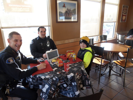 Leading Change: Breakfast with a Cop