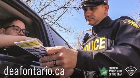 Leading Change: Ontario Provincial Police Deaf Visor Cards