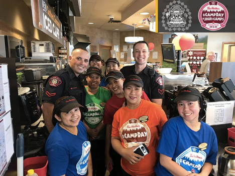 Calgary Police Serve with Tim Hortons
