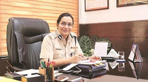 Charu Bali: Panchkula's First Female Police Commissioner